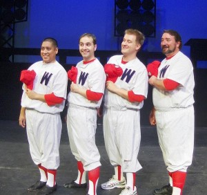 "Dan In ""Damn Yankees"" at the Woodland Opera House"