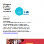 JustAsk march newsletter