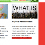 DMF - ALICE newsletter 3-16