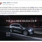 dmf Facebook Screenshot mazda