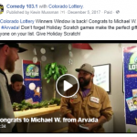 12-5 Lottery FB Comedy